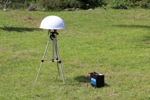 testing a tracking station